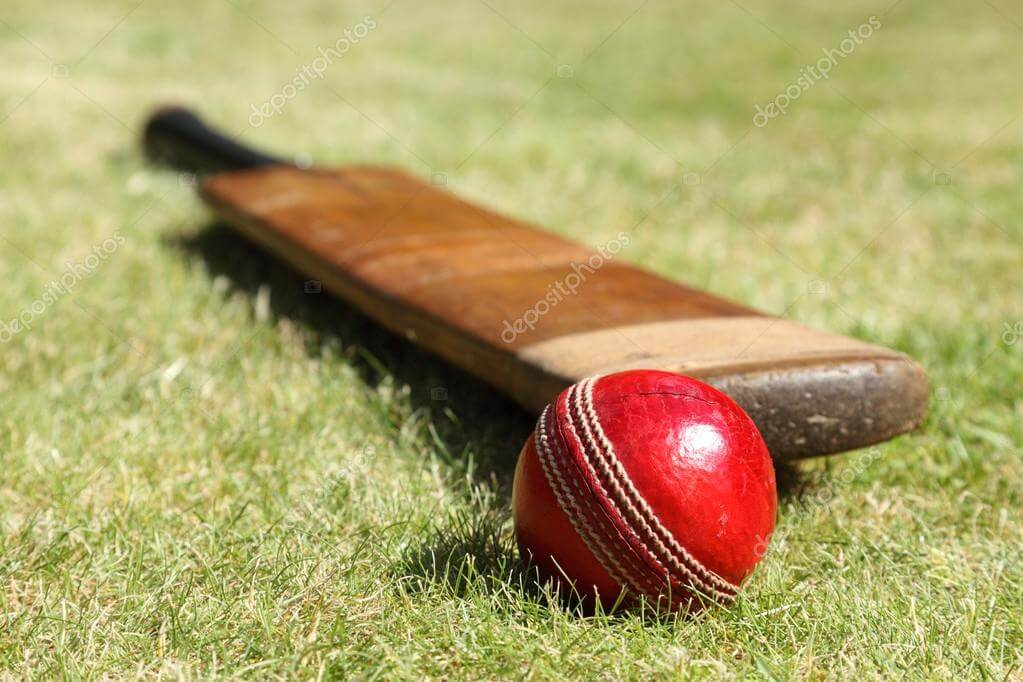 Cricket is a bat and ball game played between two teams of eleven players on a field.